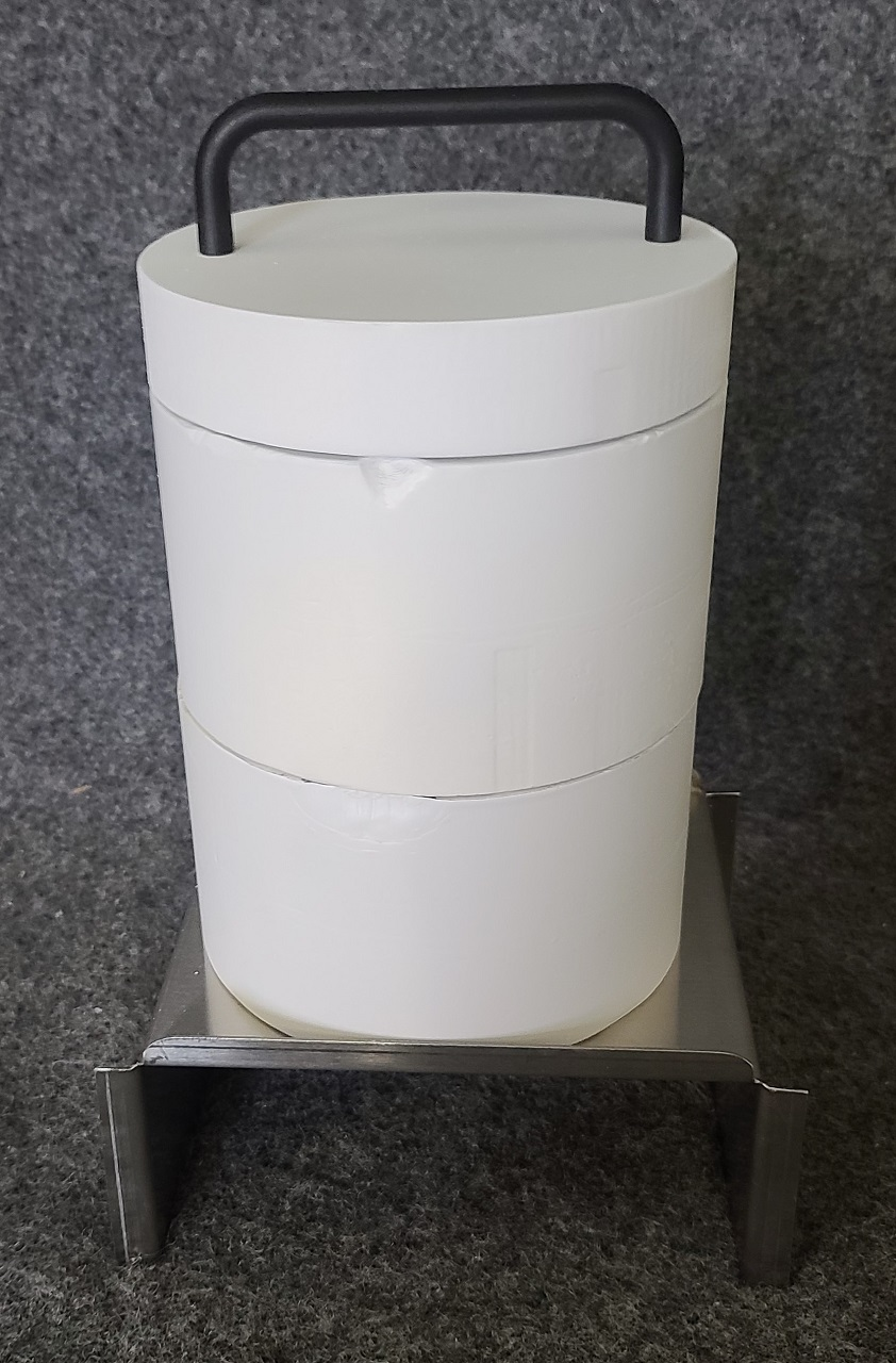 PET Auxiliary Shield For Well Counter Chamber